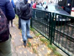 Ruch tramwajowy wstrzymany w obie strony