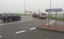 Kierowcy gubią się na rondzie w Kiełpinku
