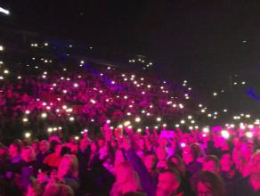 Publiczność na koncercie Davida Garretta w Ergo Arenie