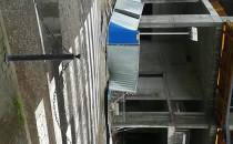 Fruwala ce ogrodzenie z blach