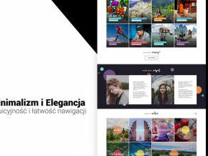 Website style - Realizacja strony www Manlay
