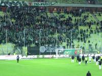 Reakcja kibiców po meczu Lechia - Korona 0:5