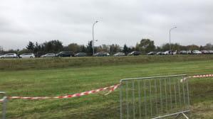 W Łostowicach parking na pasie zieleni zamknięty