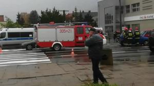 Wypadek na ul. Kołobrzeskiej