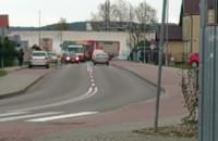O krok od zderzenia 4 ciężarówek na Częstochowskiej