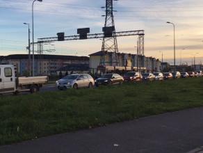 Sytuacja przy cmentarzu na ul. Łostowickiej