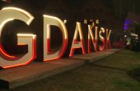 "Tak odpalono napis ""Gdańsk"" na Ołowiance"