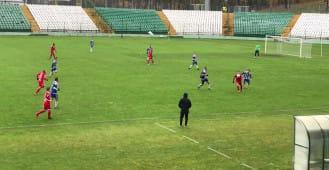 Bramka Kuświka na 4:0 w meczu Lechia - Bałtyk