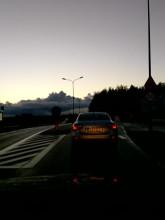 Omijanie progu na Chwarznieńskiej