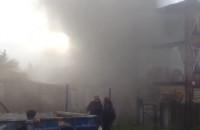 Pożar pustostanu przy VIII LO i SP 14