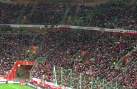 Meksykańska fala na meczu Polska - Meksyk