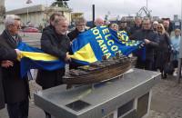 Odsłonięcie miniatury m/s Batory w Gdyni