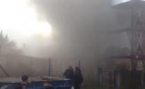 Pożar pustostanu przy VIII LO i SP 14 w...