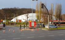 Zderzenie trzech aut przy pl. Zebrań...