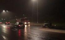 Wideo z wypadku na Trakcie św. Wojciecha