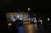 Pożar mieszkania na ul. Nieborowskiej w Gdańsku