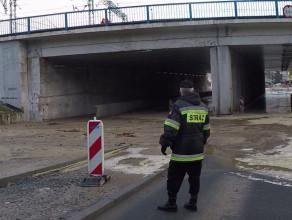 Skutki awarii wodociągowej w Gdyni