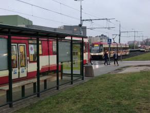 Tramwaje stanęły na Ujeścisku