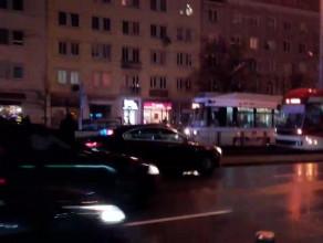 Tramwaj potrącił pieszego we Wrzeszczu