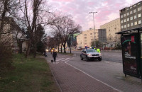 Policja i SM kontrolują buspas na Władysława IV w Gdyni