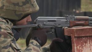 Chętni do wojska strzelali z karabinków