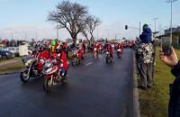 Mikołaje na motocyklach jadą przez Trójmiasto