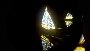 Iluminacje i szopka w Parku Oliwskim