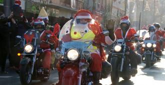 Mikołaje na motocyklach 2017