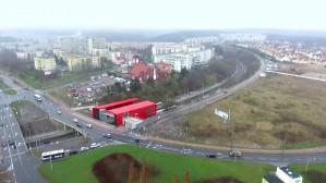 Gdyńskie przystanki PKM z lotu ptaka