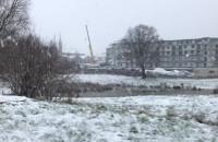 Zobacz, jak wygląda zaśnieżone Ujeścisko