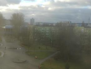 Pożar w falowcu na ul. Jagiellońskiej na Przymorzu opanowany