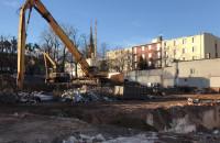 Zniknął stary budynek tzw. Chemii we Wrzeszczu