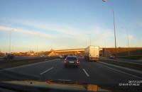 Wypadek na zjeździe Karczemki w kierunku Gdyni