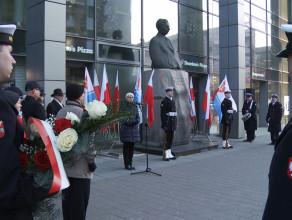 Uczcili pamięć Eugeniusza Kwiatkowskiego