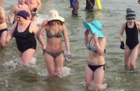 Noworoczna kąpiel morsów 2018