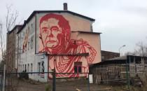 Mural Kaczyńskiego