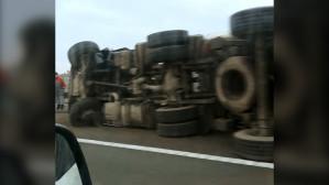 Wypadek na Południowej Obwodnicy Gdańska