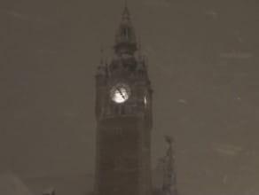 Nocne opady śniegu