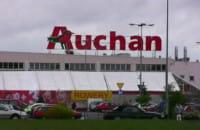 Korki pod Auchan