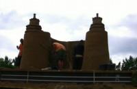 Gdańskie zabytki całe z piasku