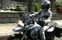 Anna Jackowska o swojej podróży motocyklem