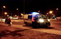 Sznur tramwai po potrąceniu na Havla