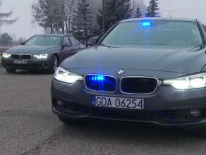 Nowe nieoznakowane radiowozy BMW pomorskiej drogówki