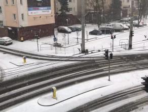 Zima zawitała do Gdyni