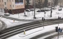 Coraz większe opady śniegu w Gdyni