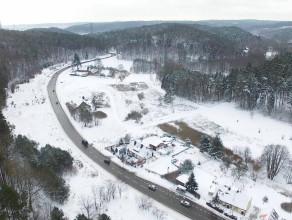 Śnieg przykrył całe Trójmiasto