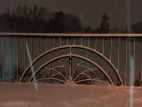 Śnieg zasuwa. Zgadnijcie gdzie?