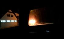 Pożar samochodu na Wiczlinie