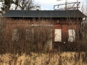 Opuszczony budynek niedaleko Motławy