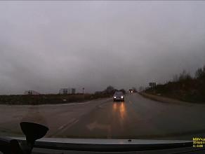 Uwaga kierowcy na idiotkę z Fabii